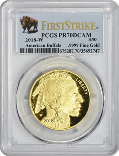 2019-W $50 Proof American Gold Buffalo