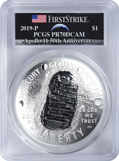 2019 Apollo 11 Commemorative Coins