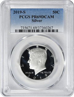 2019 Proof and Mint State Coins