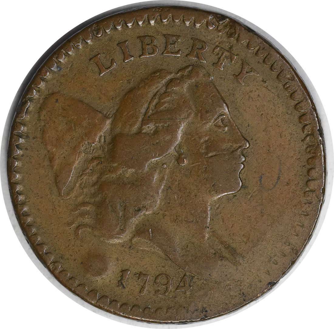 1794 Half Cent VF (Hits) Uncertified