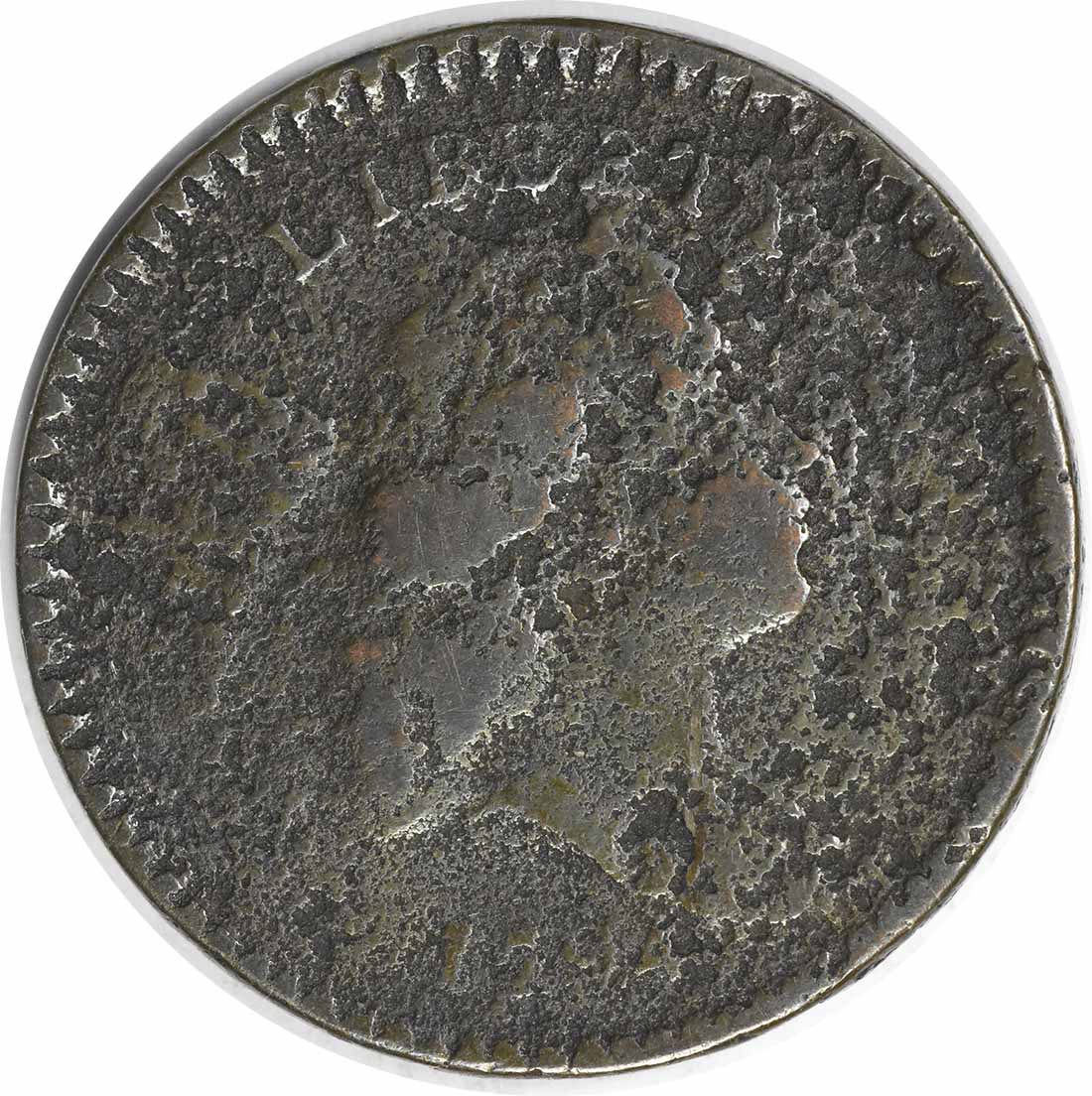 1794 Half Cent VG (Corroded) Uncertified #957