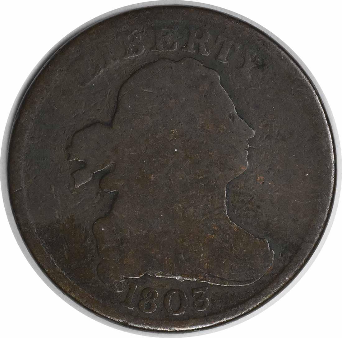 1803 Half Cent G Uncertified