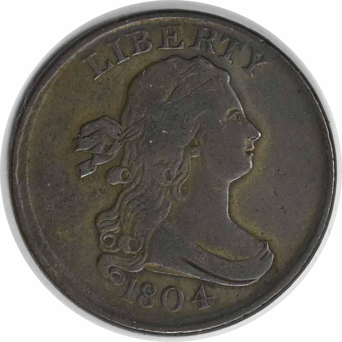 1804 Half Cent VF Uncertified #124