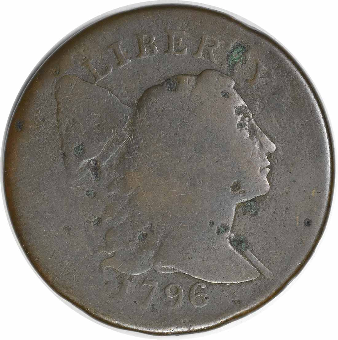 1796 Large Cent Liberty Cap G Uncertified