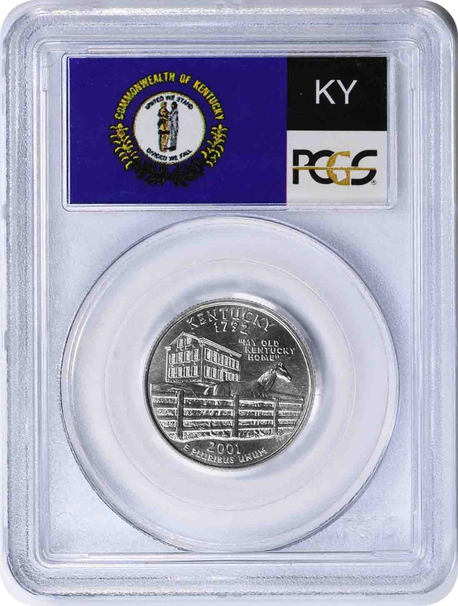 2001-P Kentucky State Quarter MS67 PCGS
