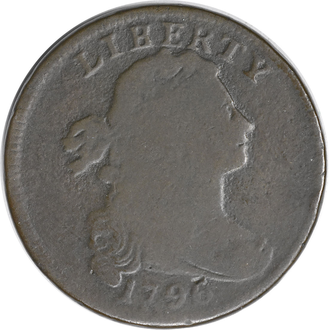 1796 Large Cent LIHERTY G Uncertified