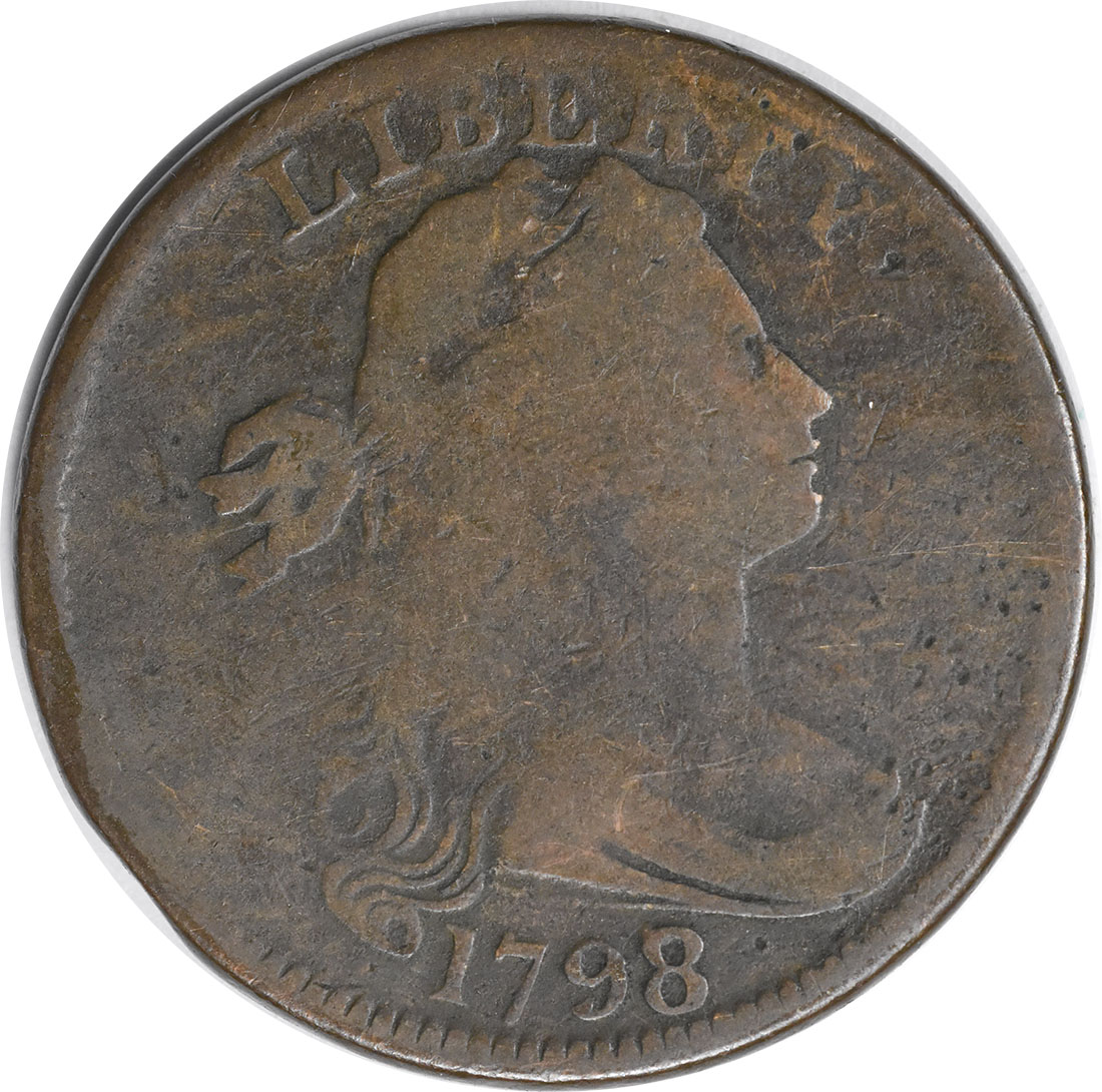 1798/7 Large Cent G Uncertified