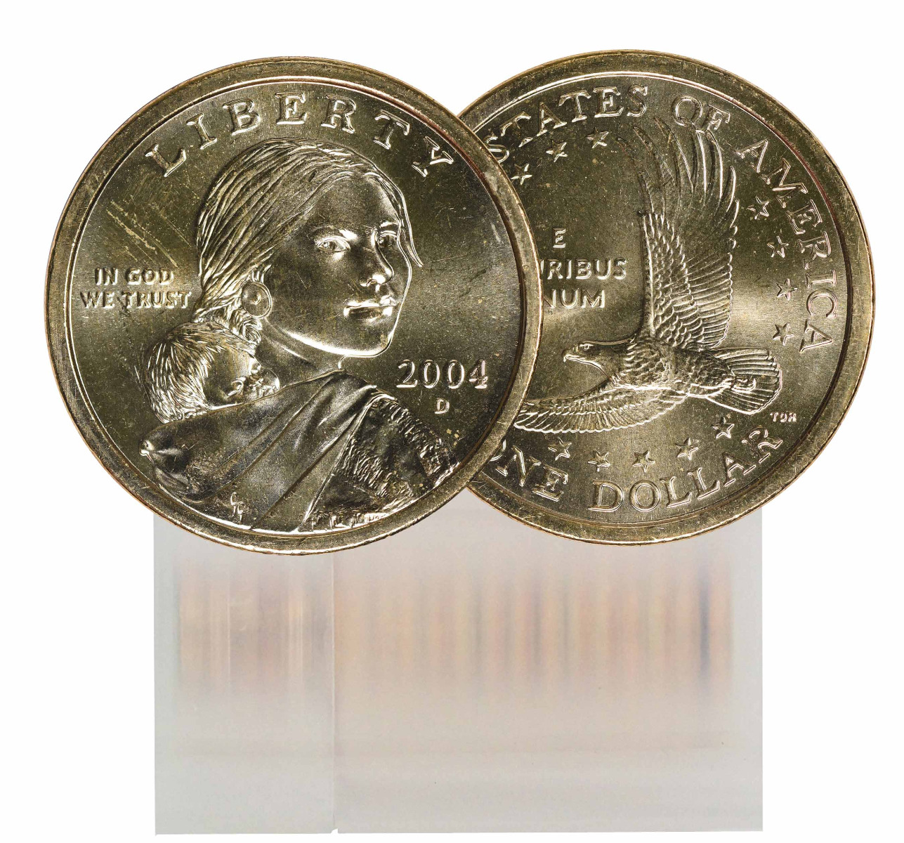 2004-D BU Sacagawea Dollar 25-Coin Roll