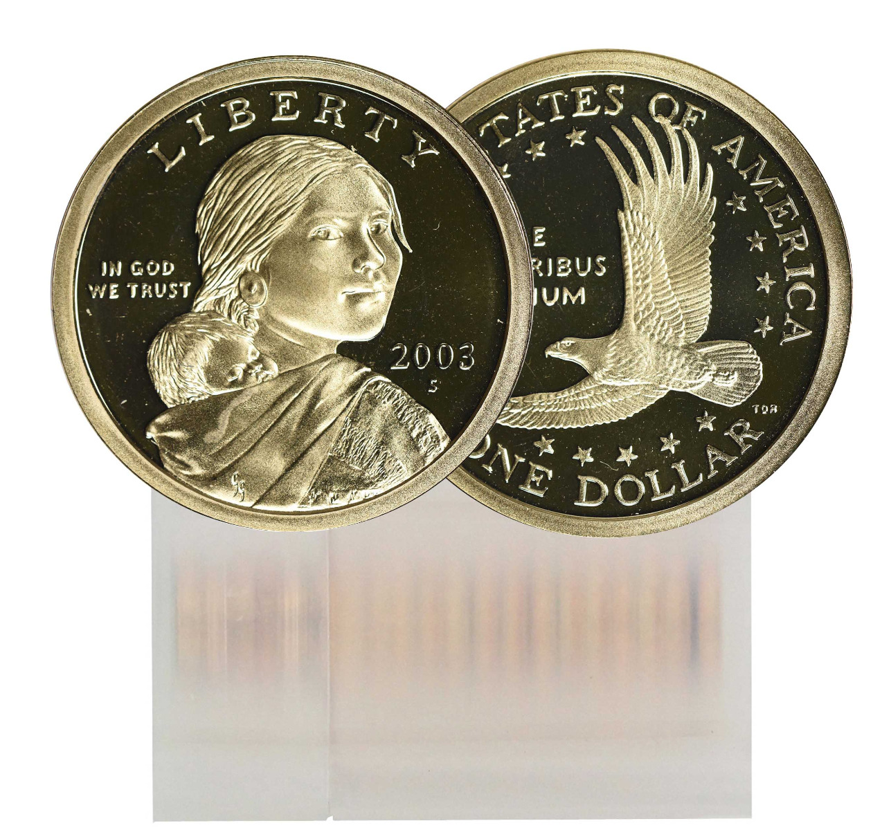 2003-S Proof Sacagawea Dollar 25-Coin Roll