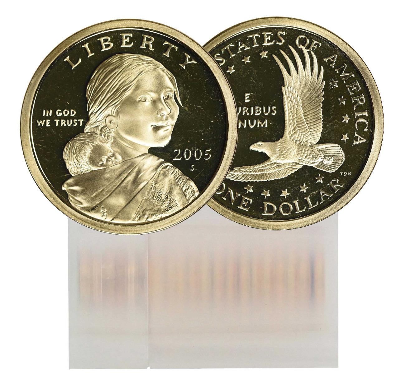 2005-S Proof Sacagawea Dollar 25-Coin Roll