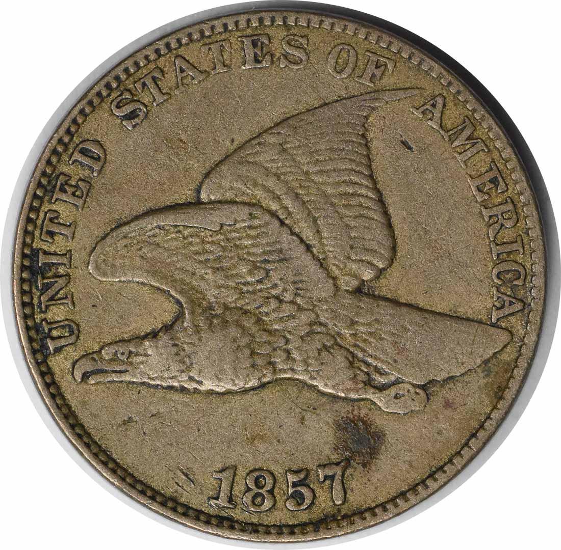 1857 Flying Eagle Cent EF Uncertified #1049