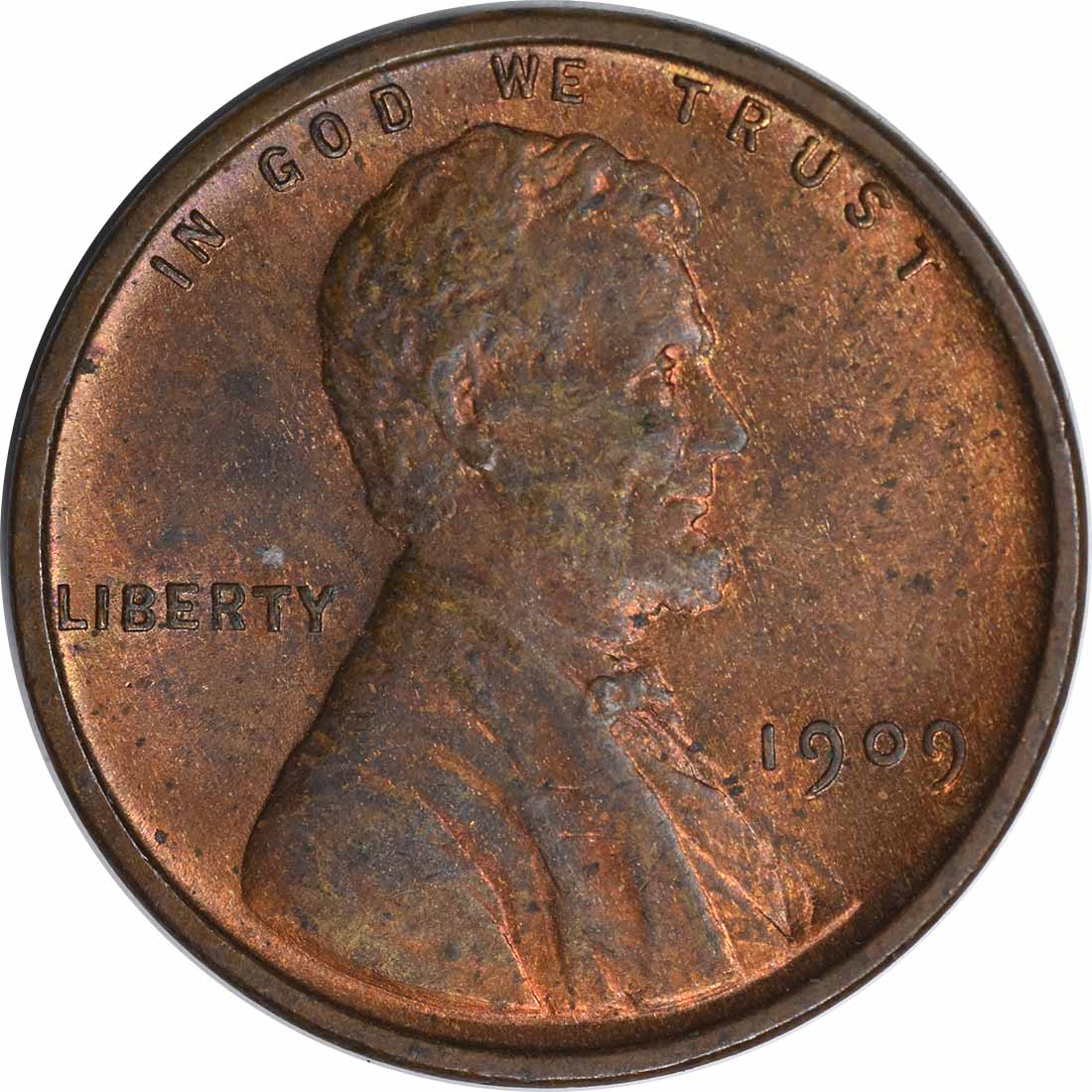 1909-P VDB Lincoln Cent MS63 Uncertified