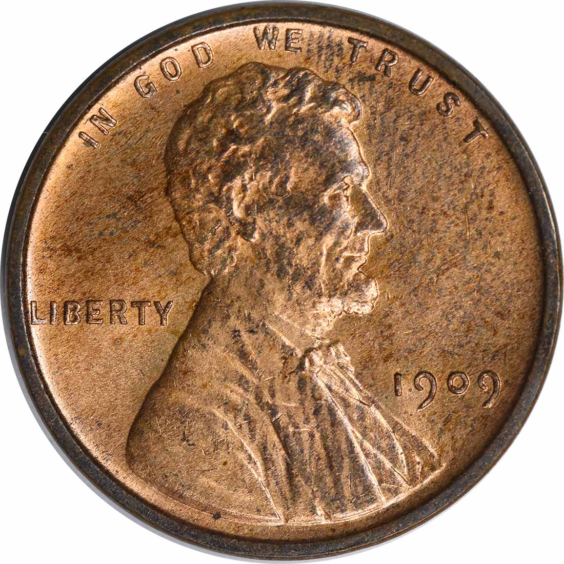 1909-P VDB Lincoln Cent MS64 Uncertified