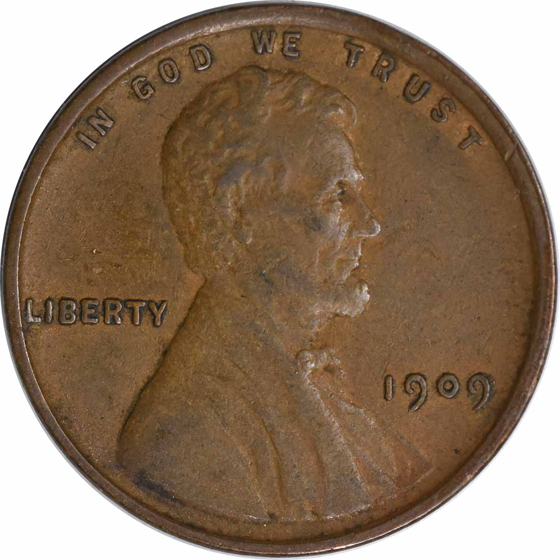 1909-P Lincoln Cent EF Uncertified