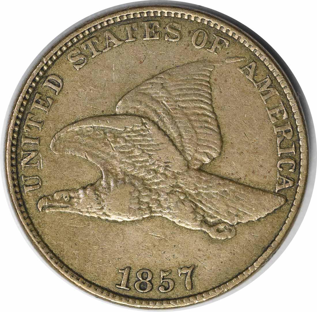 1857 Flying Eagle DDO FS-101 EF40 Uncertified #100
