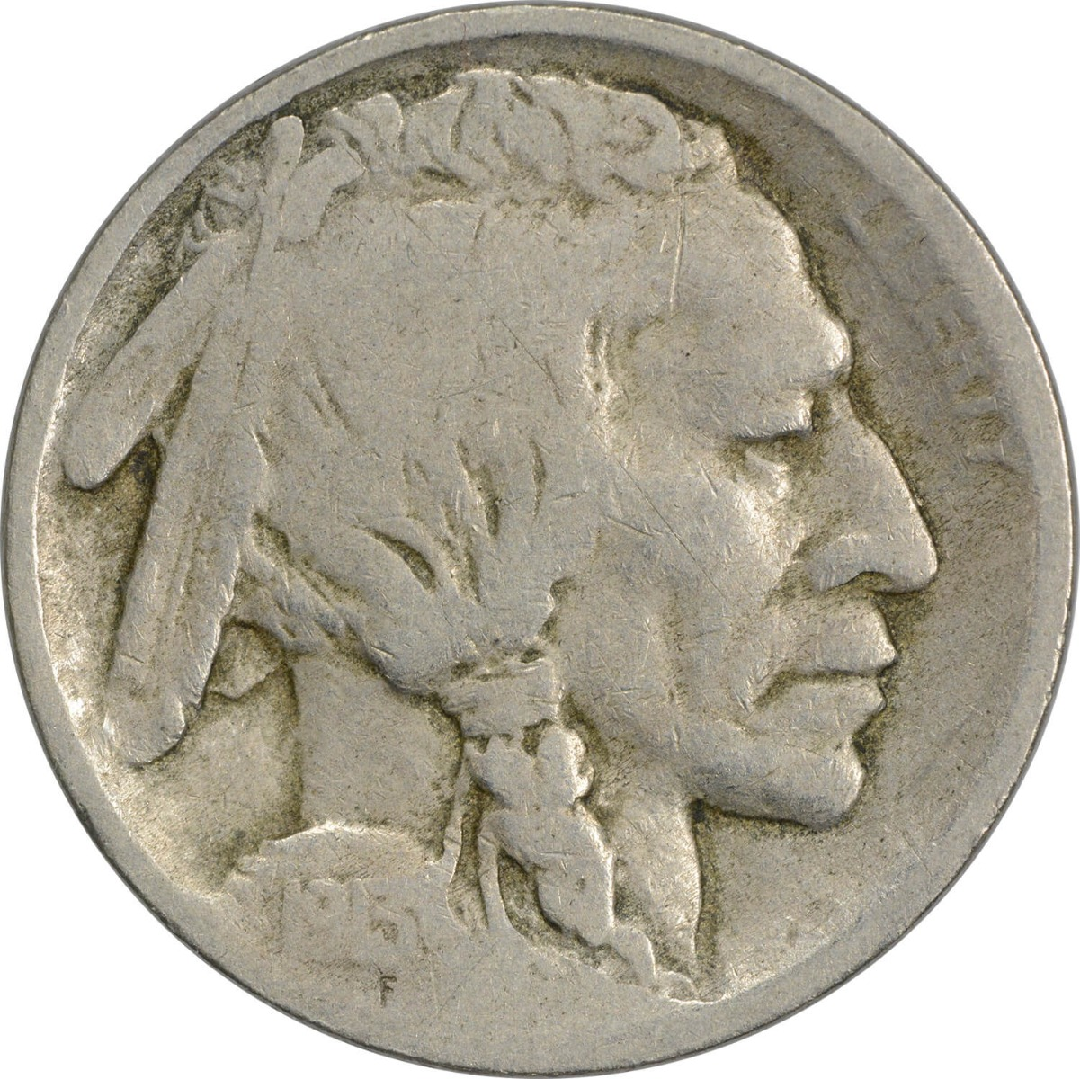 1913 Buffalo Nickel Type 1 G Uncertified