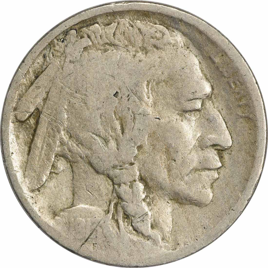 1913-D Buffalo Nickel Type 1 G Uncertified