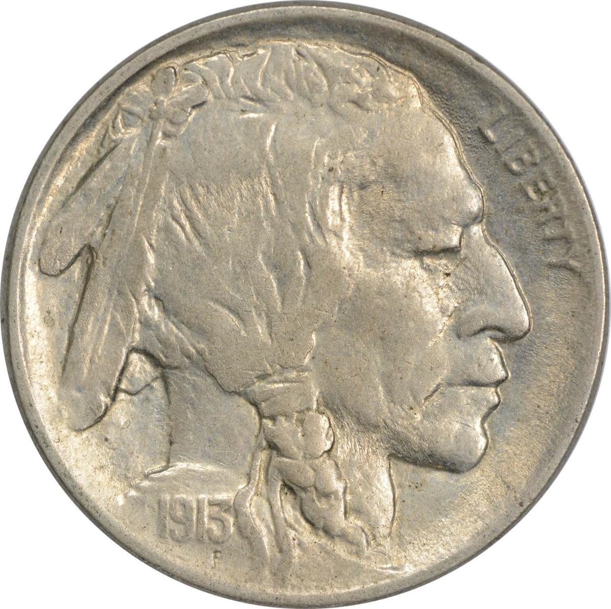 1913 Buffalo Nickel Type 2 MS60 Uncertified
