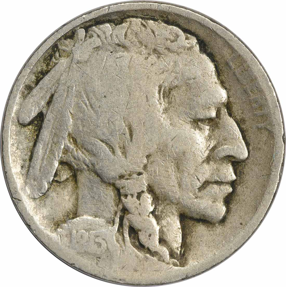 1913 Buffalo Nickel Type 2 VG Uncertified