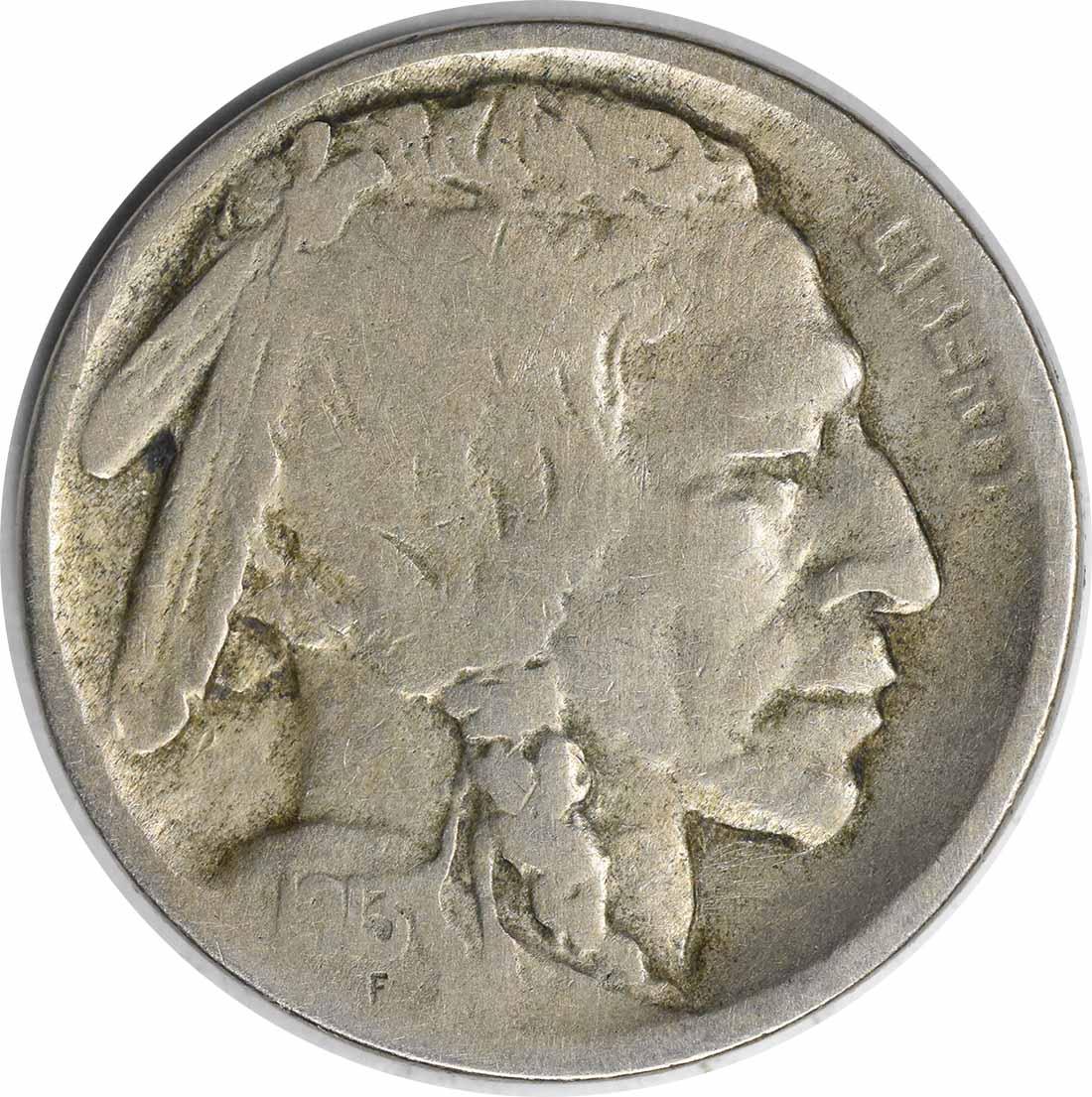 1913-D Buffalo Nickel Type 2 VG Uncertified #230