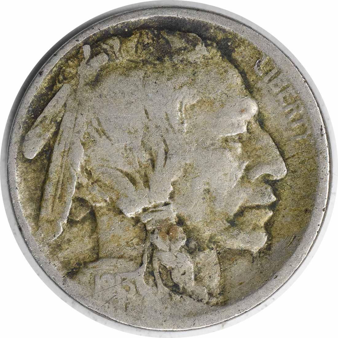 1913-D Buffalo Nickel Type 2 VG Uncertified #232