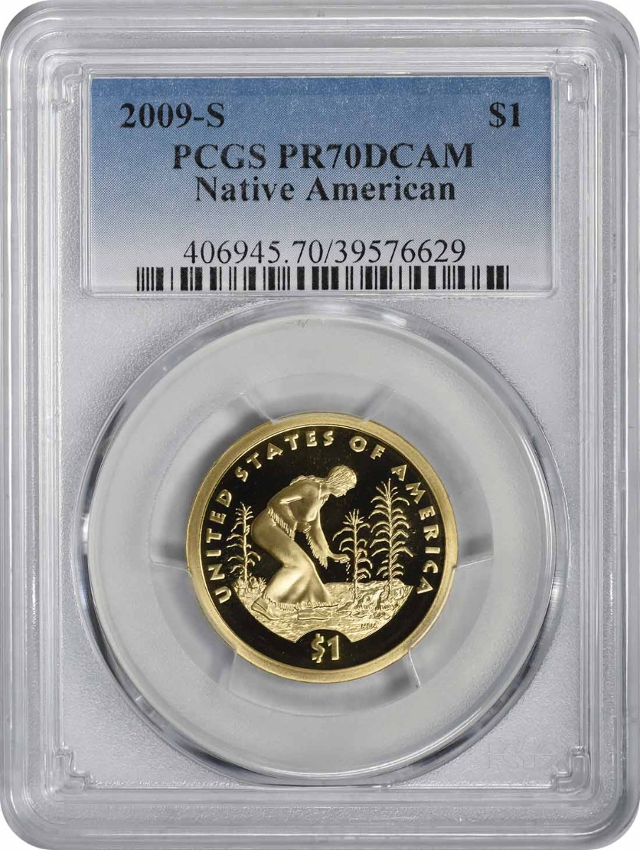 2009-S Sacagawea Dollar PR70DCAM PCGS