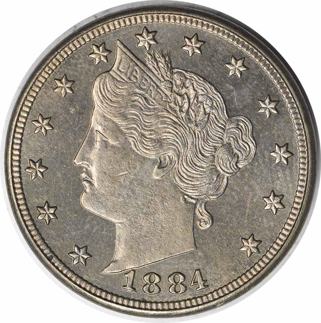 1884 Liberty Nickel RPD FS-301 Proof 64 Uncertified #209