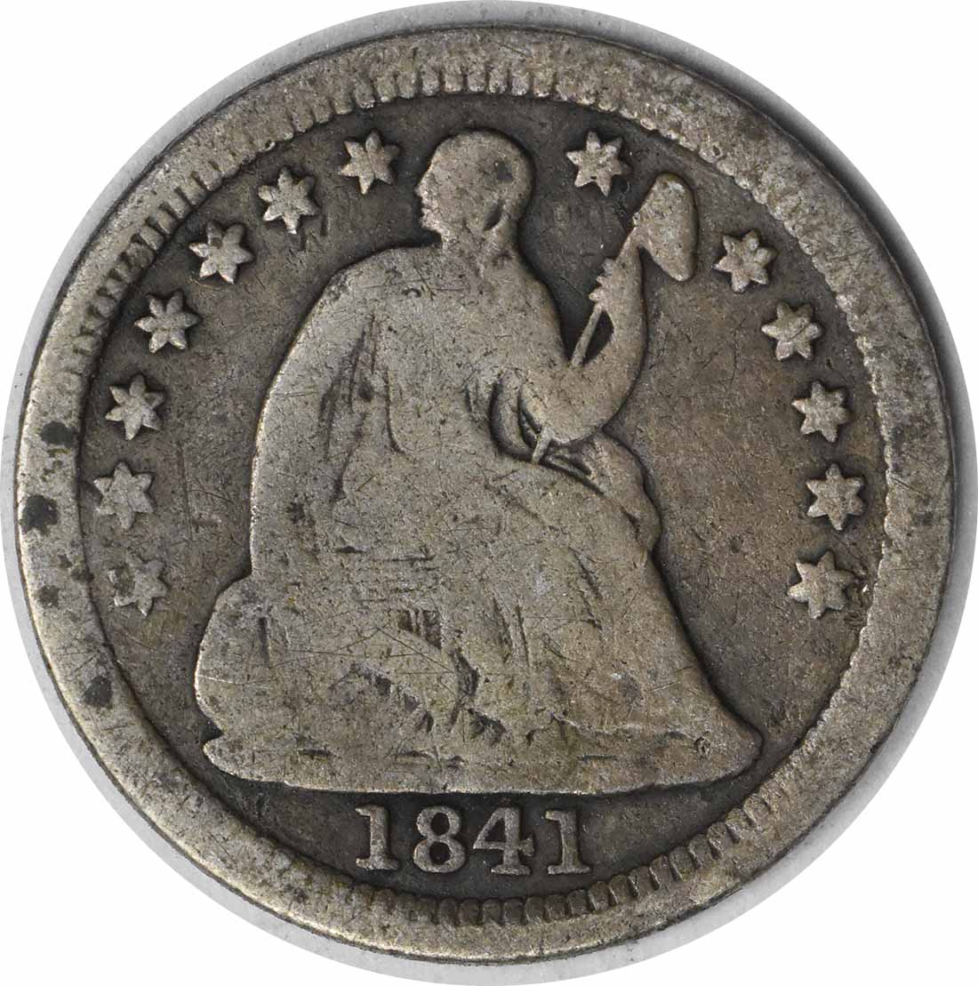 1841-O Liberty Seated Silver Half Dime G Uncertified