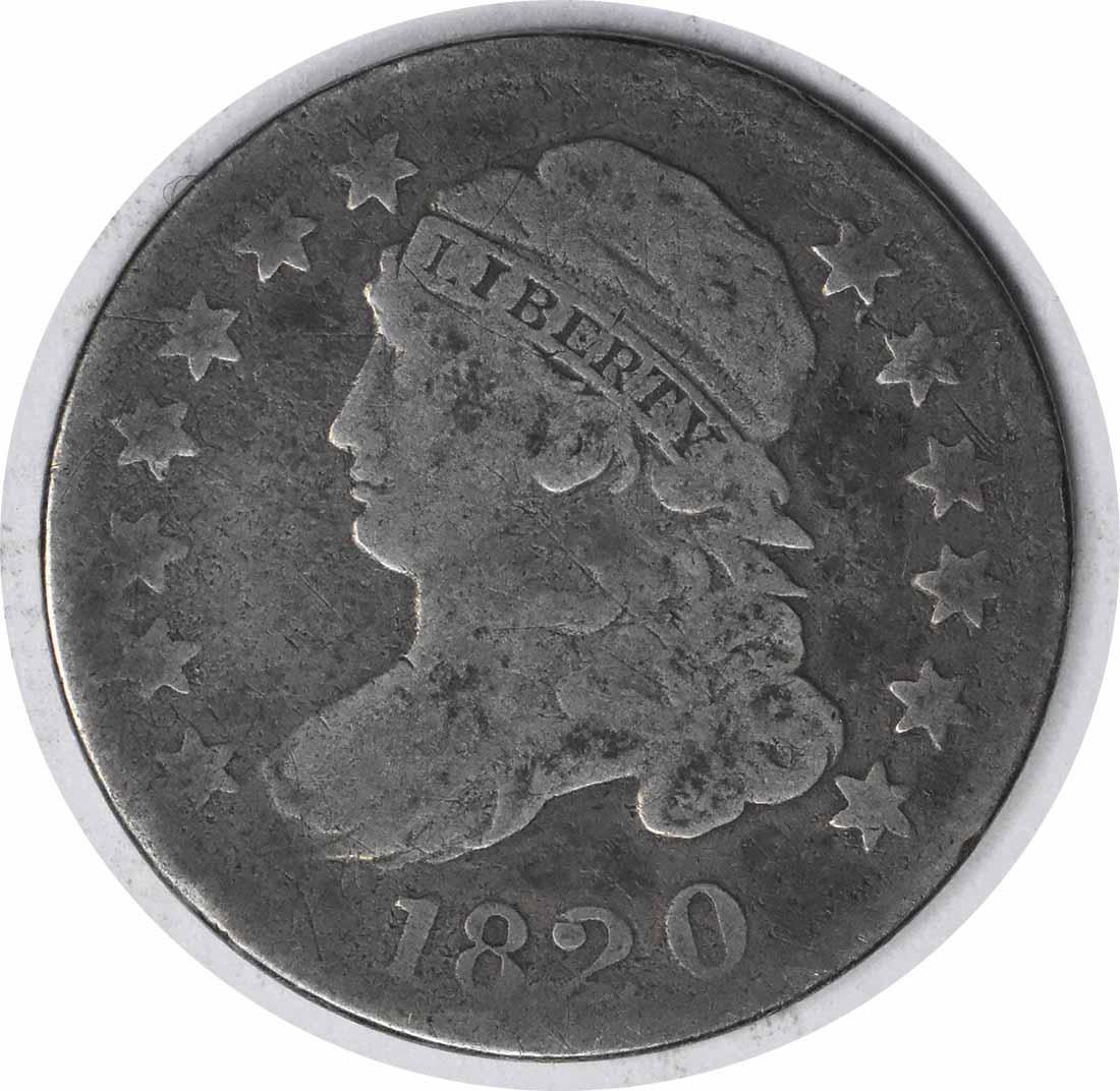 1820 Bust Silver Dime STATESOF G Uncertified #1227