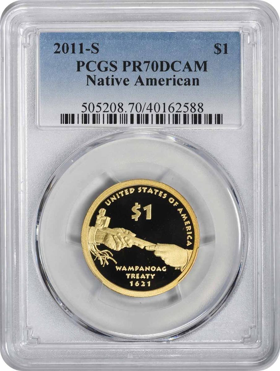 2011-S Sacagawea Dollar PR70DCAM PCGS