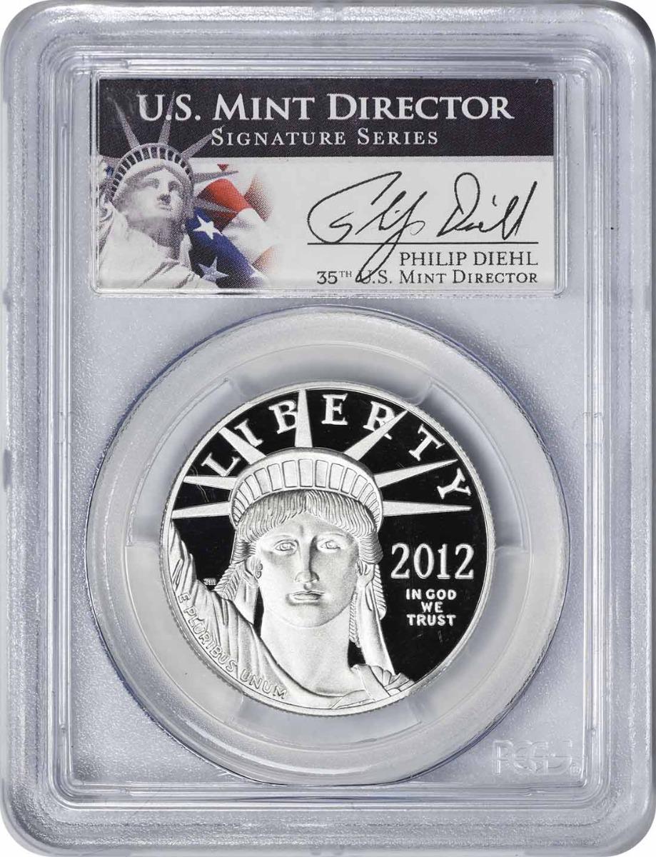 2012-W $100 American Platinum Eagle PR70DCAM PCGS