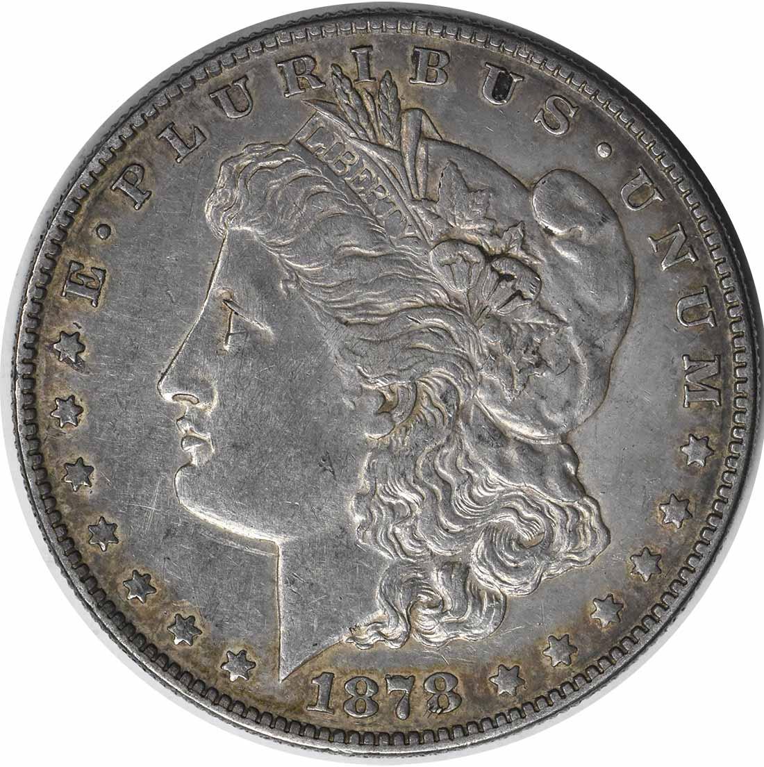 1878-S VAM 81 Morgan Silver Dollar EF Uncertified