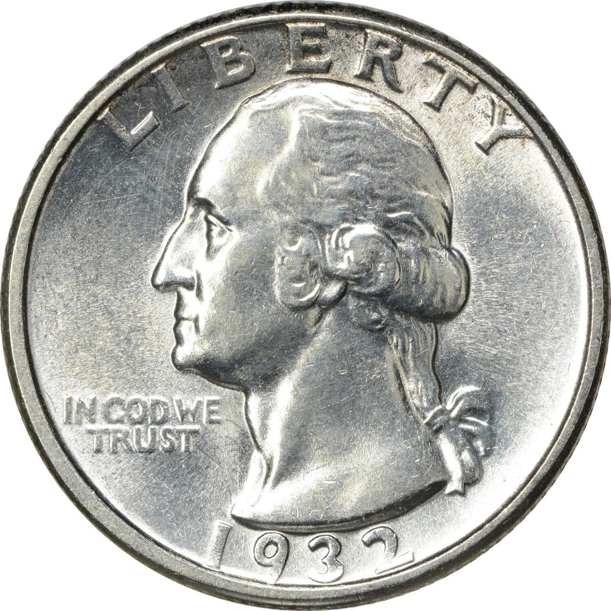 1932-D Washington Silver Quarter MS60 Uncertified