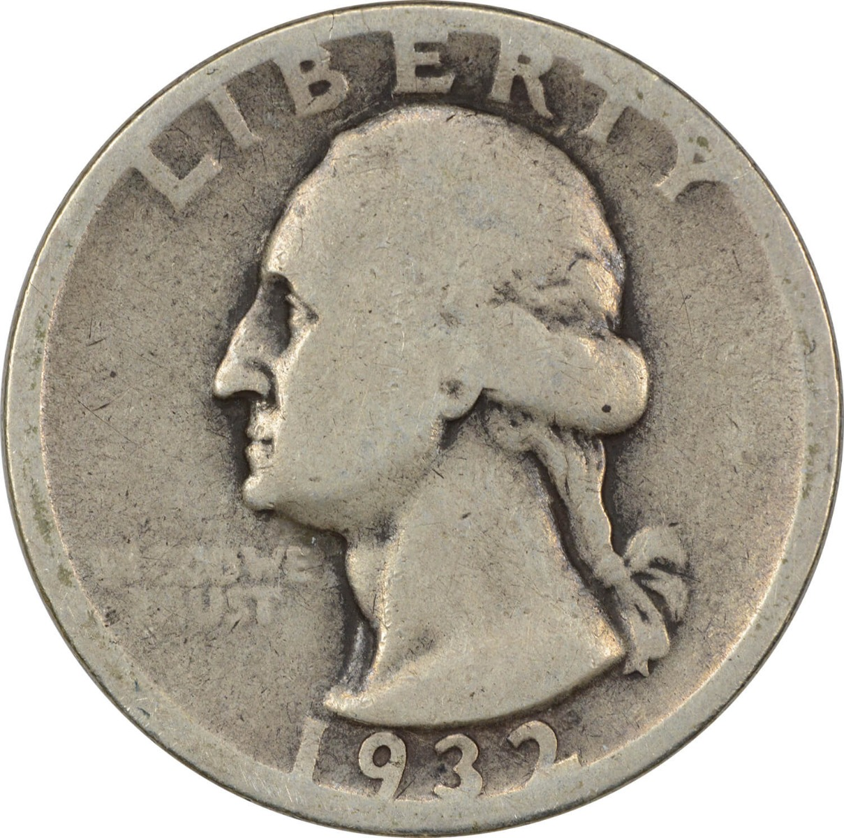 1932-D Washington Silver Quarter G Uncertified