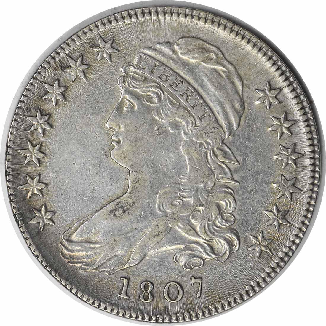 1807 50/20 Bust Half Dollar EF Uncertified
