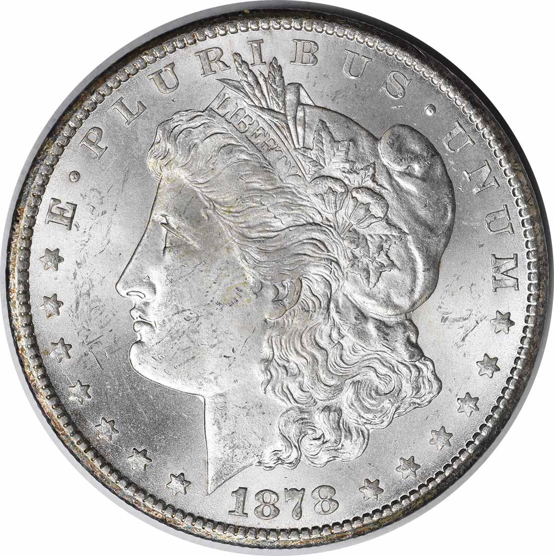 1878-CC Morgan Silver Dollar MS60 Uncertified #234
