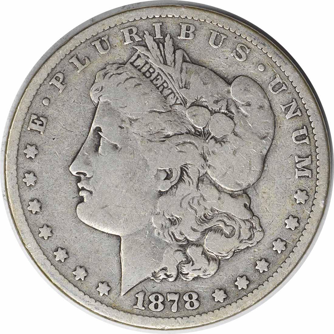 1878-CC Morgan Silver Dollar VG Uncertified #1139