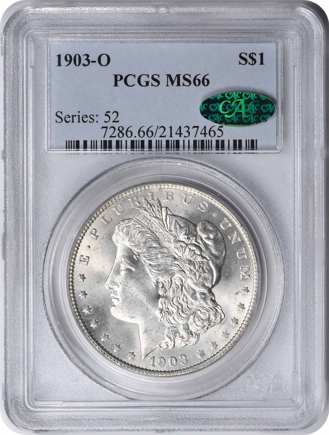 1903-O Morgan Silver Dollar MS66 PCGS (CAC)