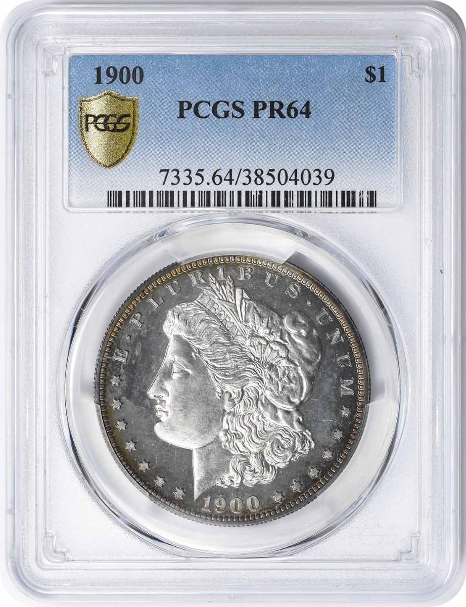 1900 Morgan Silver Dollar PR64 PCGS