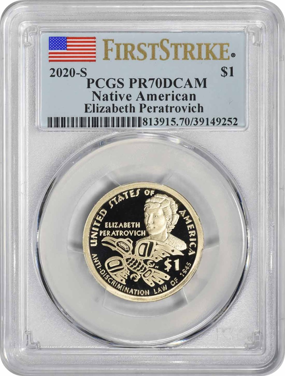 2020-S Sacagawea Native American Dollar PR70DCAM First Strike PCGS