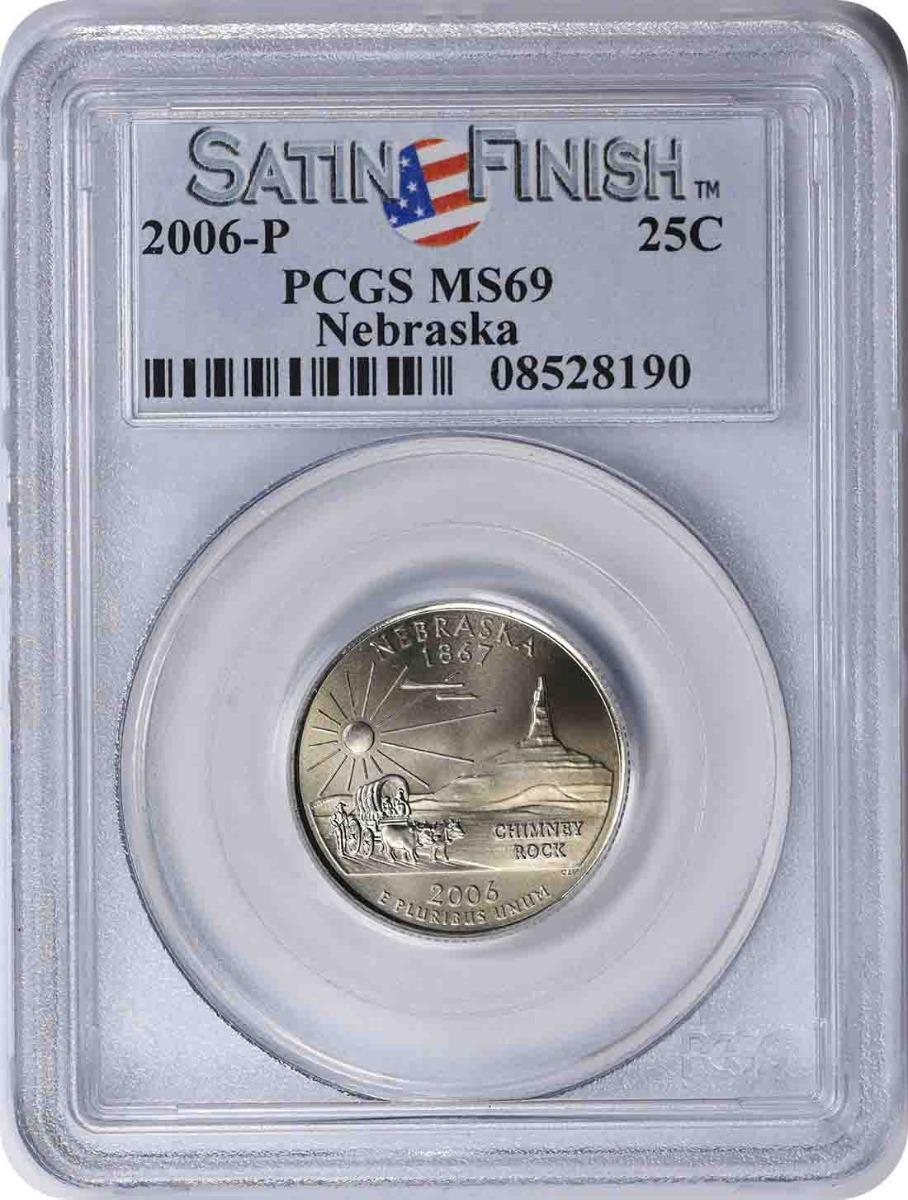 2006-P Nebraska State Quarter MS69 PCGS