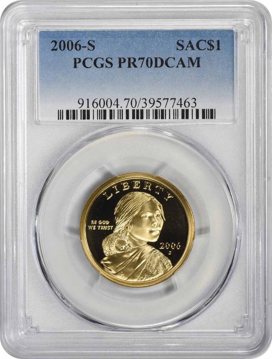 2006-S Sacagawea Dollar PR70DCAM PCGS