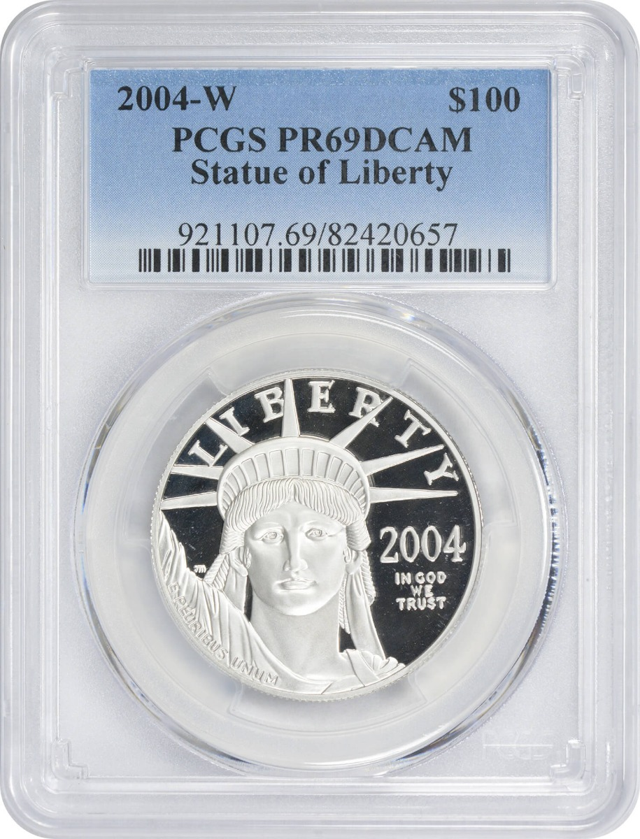 2004-W $100 American Platinum Eagle PR69DCAM PCGS