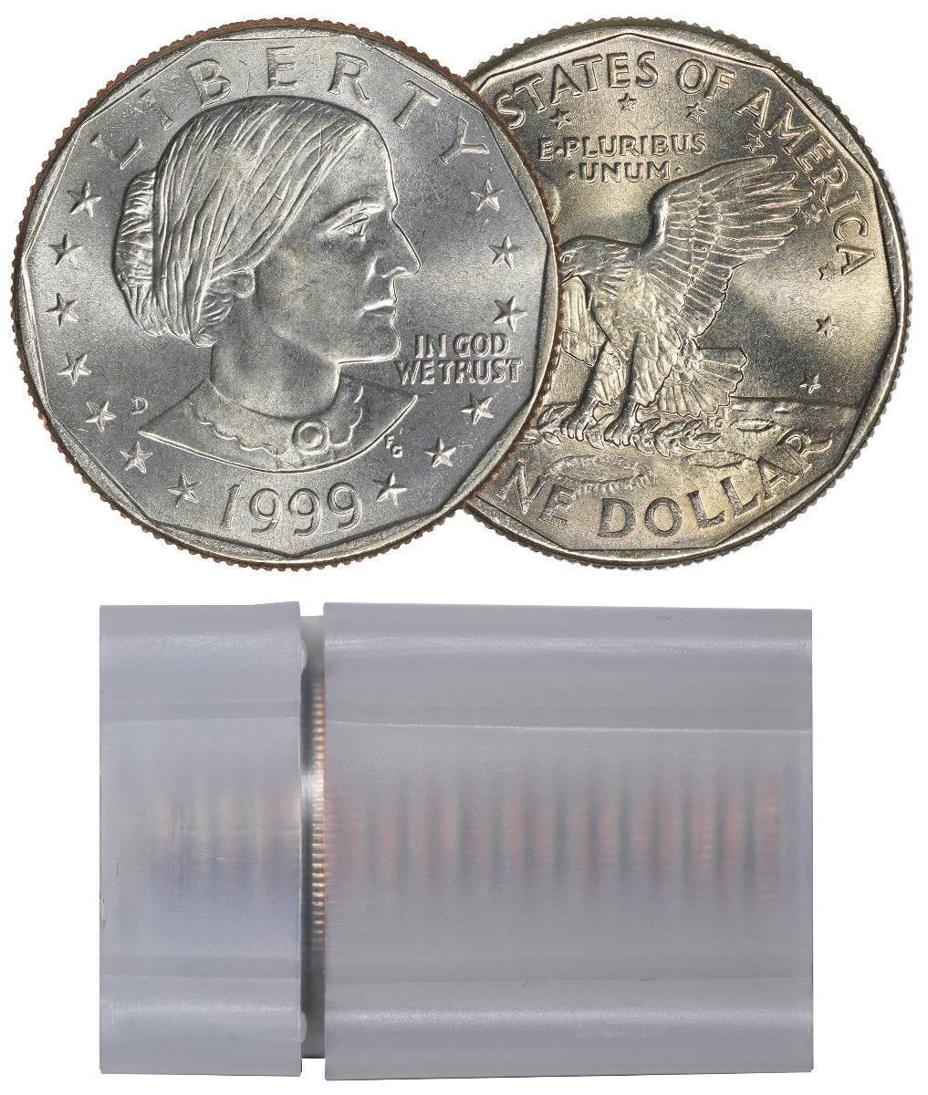 1999-D BU Susan B. Anthony Dollar Roll