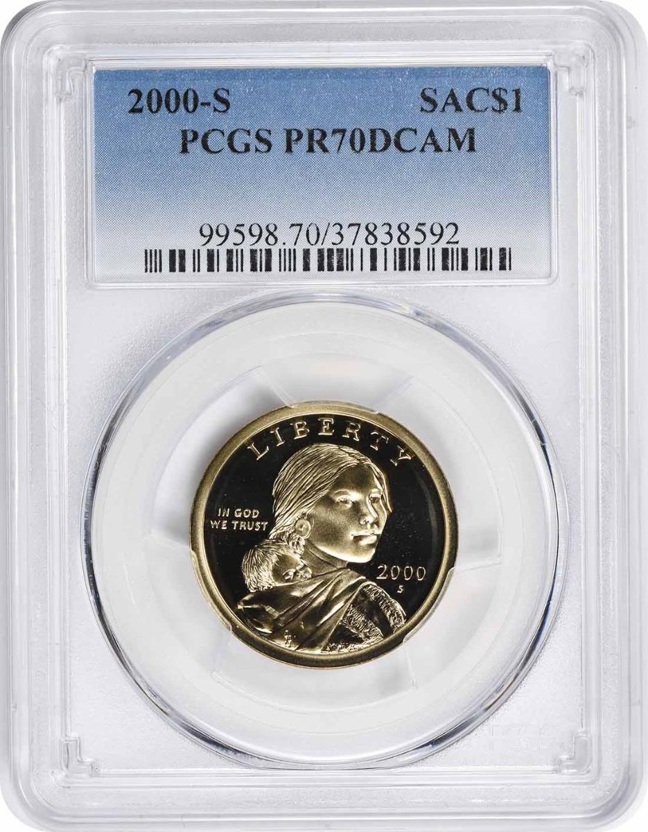 2000-S Sacagawea Dollar PR70DCAM PCGS