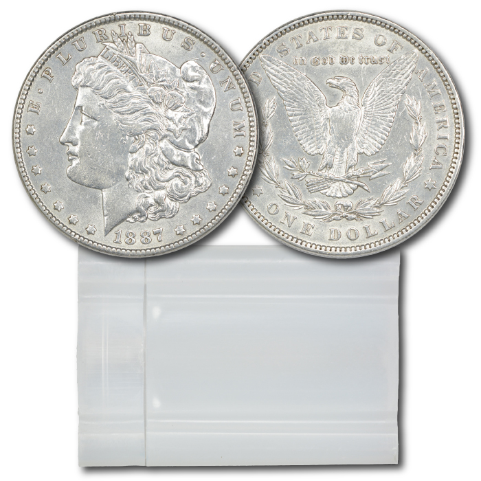 Choice About Uncirculated Morgan Dollars
