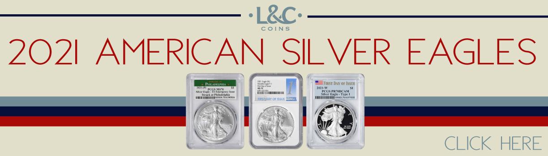 2021 American Silver Eagles