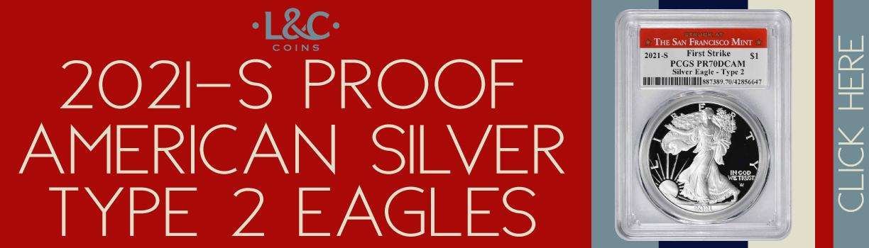 2021-S American Silver Eagles