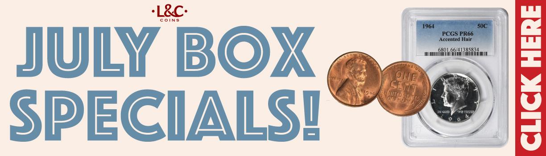 Coin deals! Shop Box Specials!