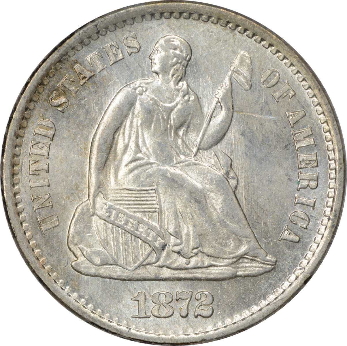 Liberty Seated Silver Half Dimes